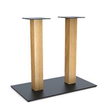 Опора для стола Milano Double Wood. Каталог. Завод Сталкон.