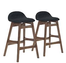 Барный стул BLOOM черный тканевый Office4You