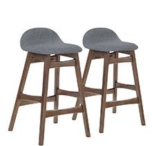 Барный стул BLOOM серый тканевый Office4You