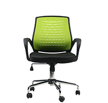 Рабочий стул Brescia Green Black Office4You