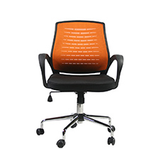 Рабочий стул Brescia Orange Black Office4You