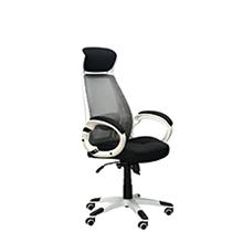 Кресло руководителя Briz White-Black Special4You